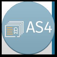 AS4 Button