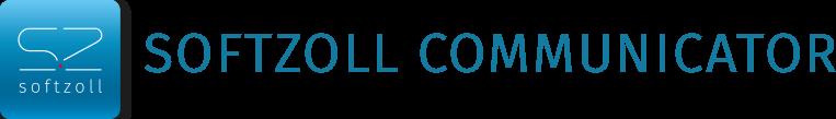 softzoll communicator Schriftzug