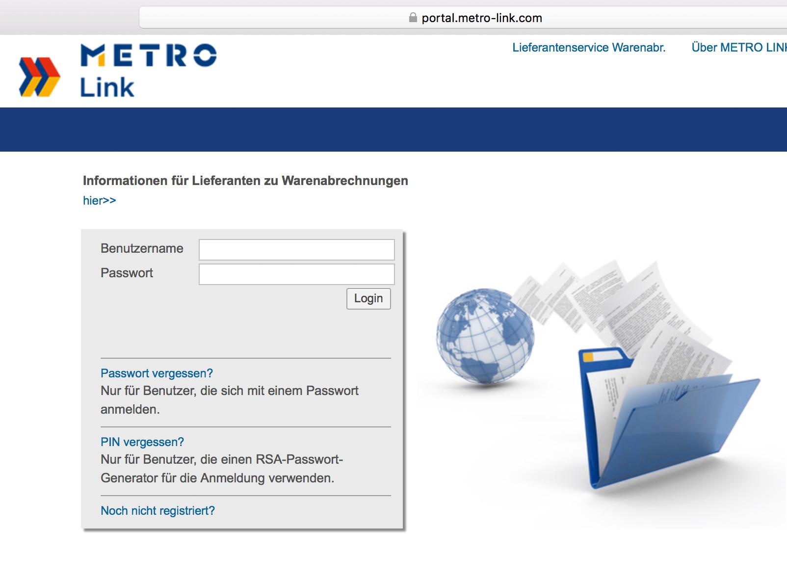Softzoll-EDI/MetroLink